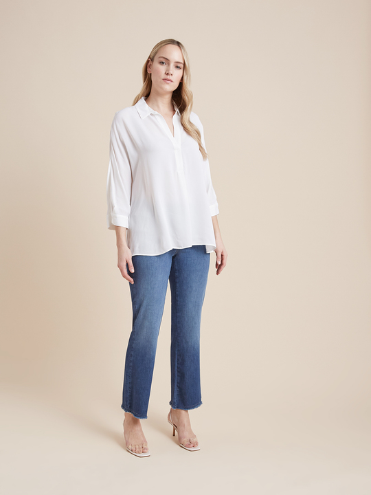Elenamiro: Jeans kick flare Blu_1
