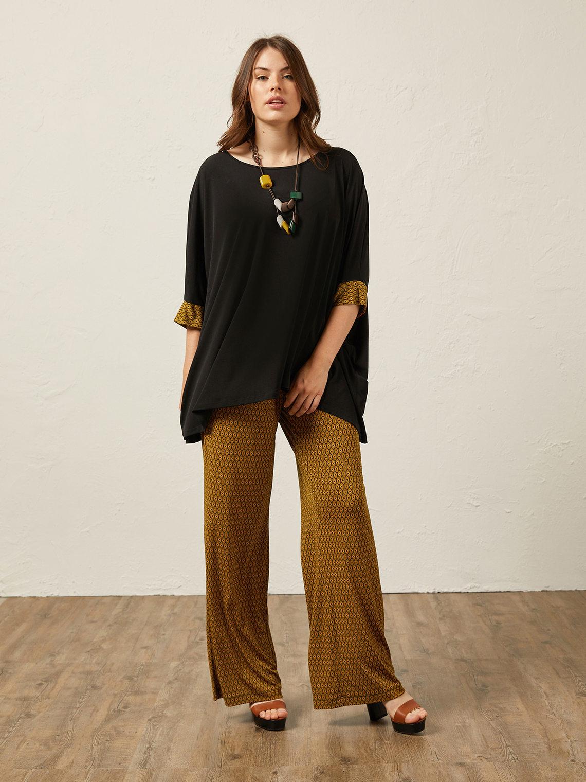 nuovo stile 9ab4a 3eb08 Pantaloni in jersey stampato - Elena Mirò - ES
