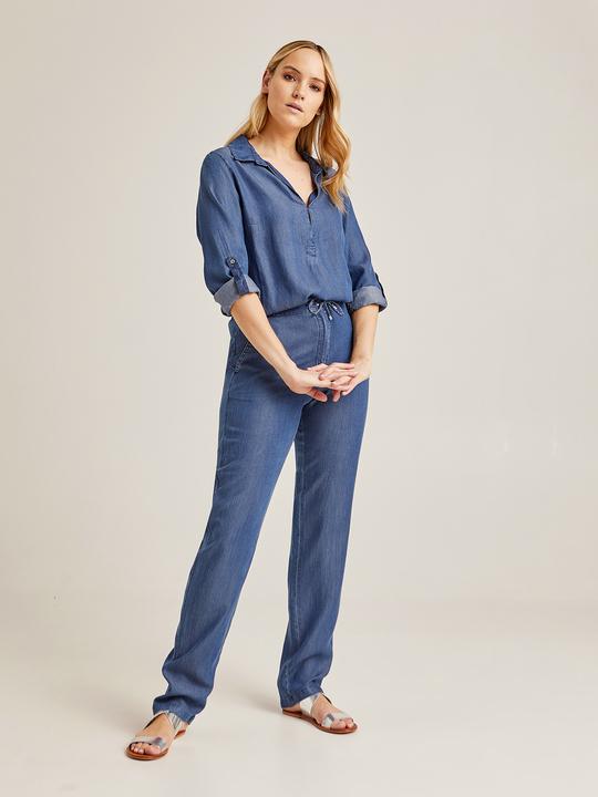 786fa180b01a Pantaloni Eleganti da Donna Taglie Comode - ElenaMiro.com
