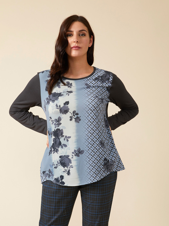 Top Curvy Donna Shirt Moda da T e r7xFfr