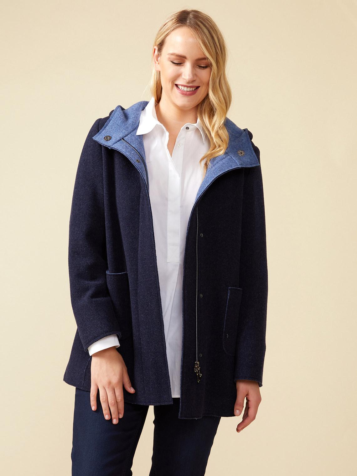 Felted wool coat - Elena Mirò - FR a4684a63b8b