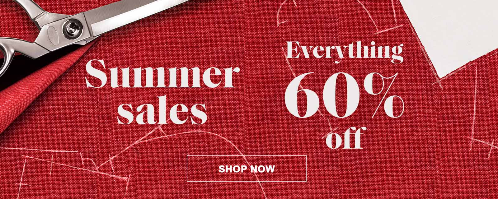 Sales everithing -60%