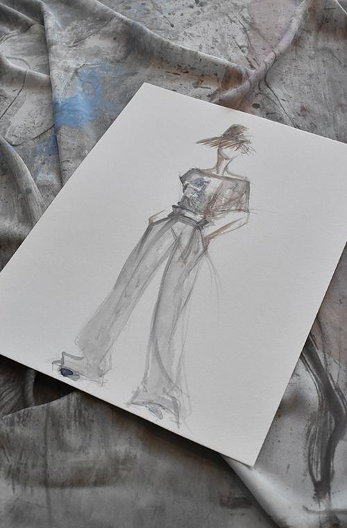 Collezione Piazza della Scala dall'Atelier Elena Miro