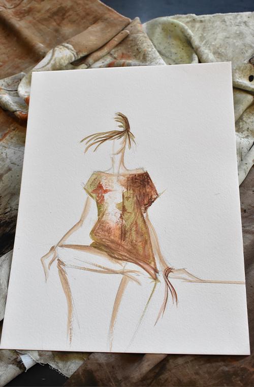 Capsule Collection Piazza della Scala dall' Atelier Elena Miro
